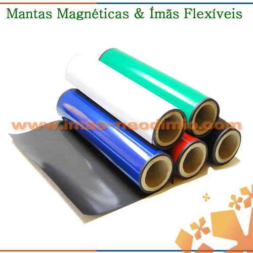 imã flexível de PVC