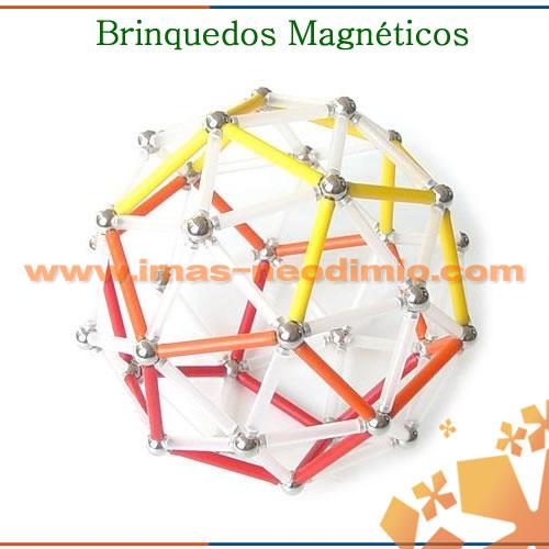 brinquedo magnético criat ímã