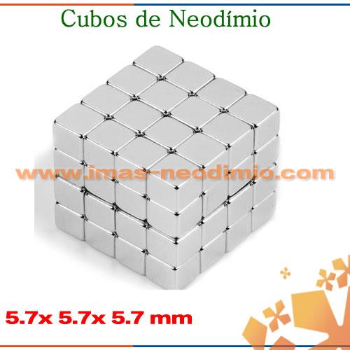 ímã permanente cubo