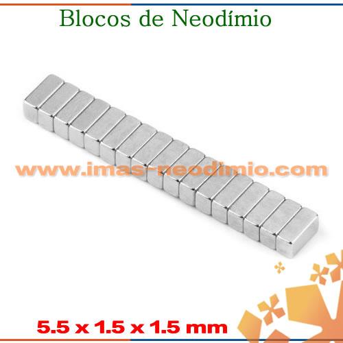 blocos magnéticas com ímãs neodímio