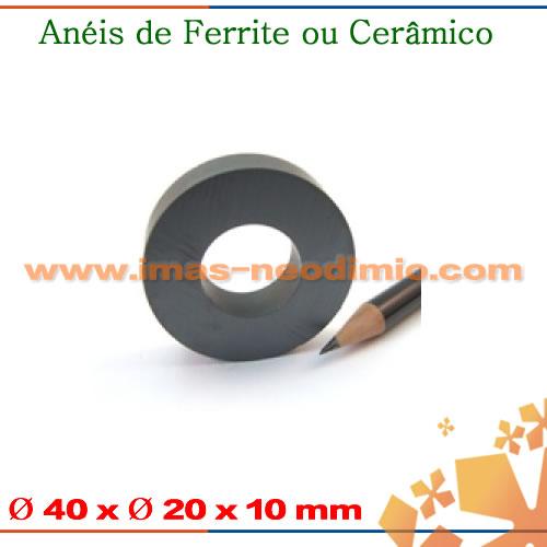 anéis magneticos cerâmica
