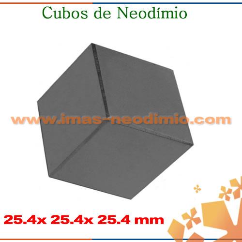 ímas de neodíminio cubos
