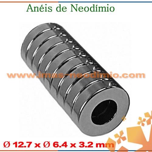 ímãs tubos de neodímio