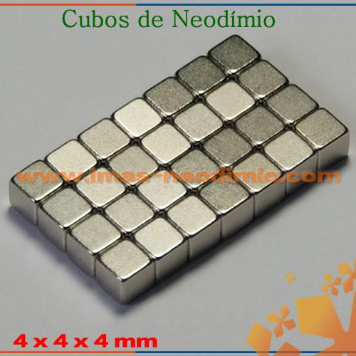 ímãs sinterizados de neodímio cubos