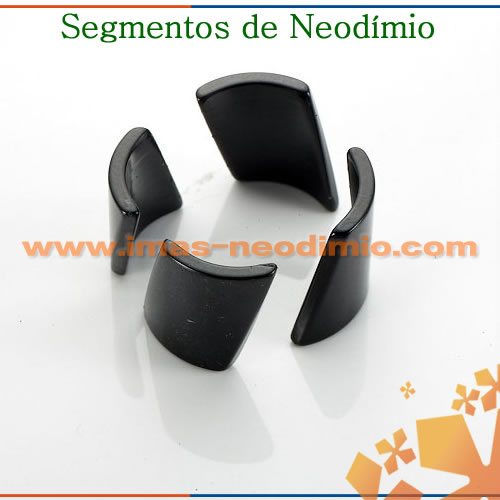 segmento magnético neodímio para motor