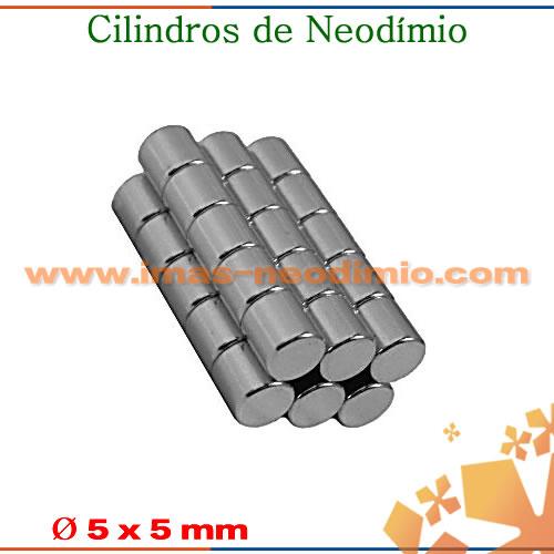 cilindros de NdFeB