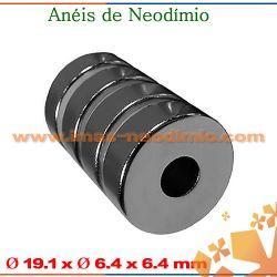 tubo magneto de neodímio