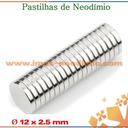 pastilhas magneticos NdFeB