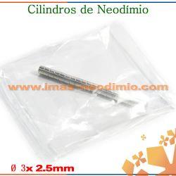 cilindro de neodímio