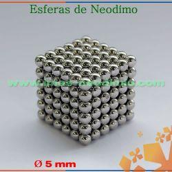 cubo de 216 esferas magnéticas