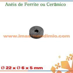 anel com imãs de ferrite