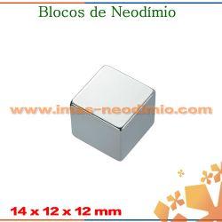 bloco magnética em neodímio zinco