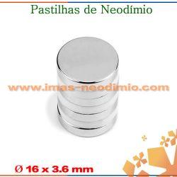 imãs em neodimio pastilha