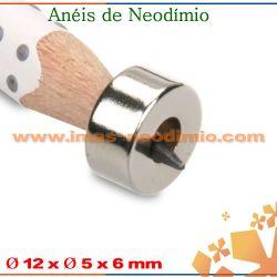 neodímio ímãs roscas N50