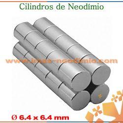 cilíndricos magnéticas com ímãs neodímio