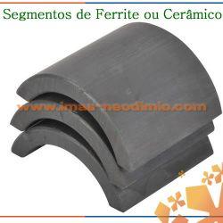 ímã arco de cerâmica