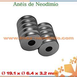 roscas magnéticas com ímãs neodímio