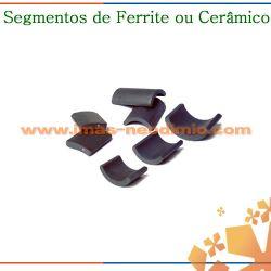segmento magnética em ferrite
