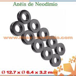 anéis magnéticas NdFeB