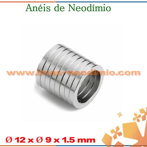 anéis de NdFeB