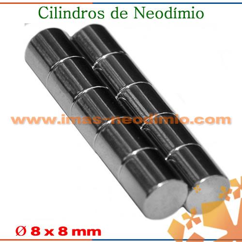 ímas de neodíminio cilindros