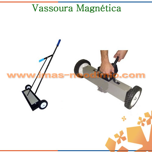 vassouras magnéticas