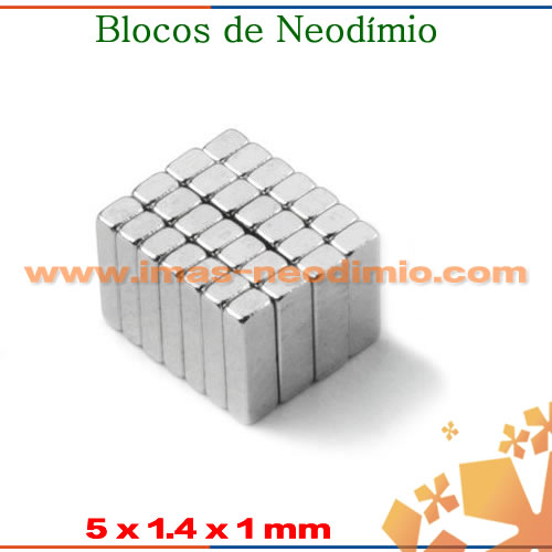 blocos de neodímio