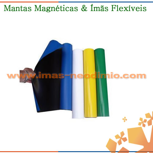 mantas magnéticas anisotrópica