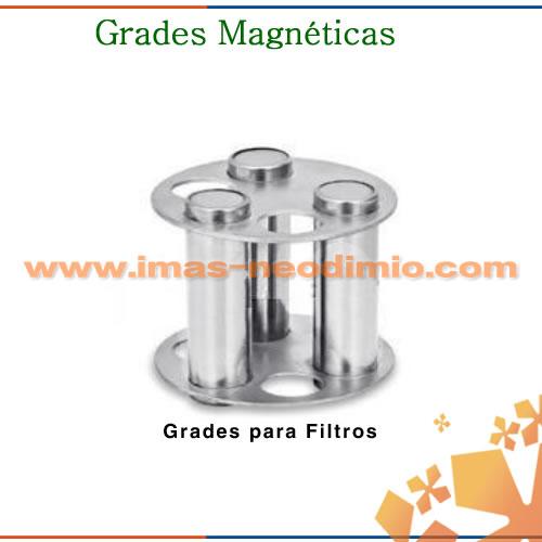 tubos magnéticos grade magnética