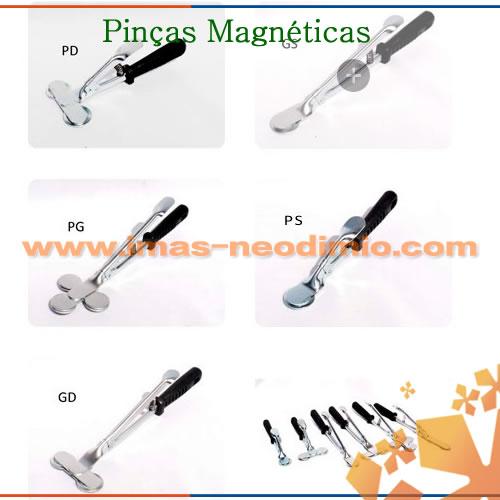 pinças magnéticas ímãs de NdFeB