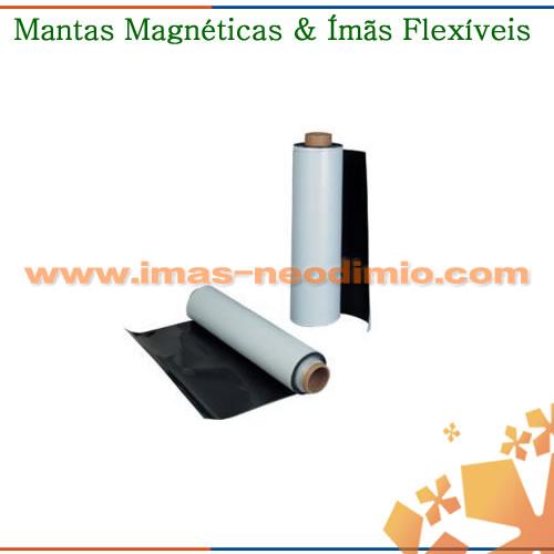 ímãs flexíveis isotrópica