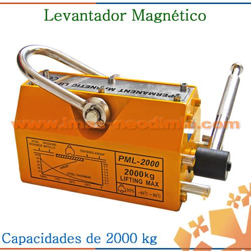 levantador magnético 200kgf